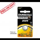 Pile Duracell lithium CR2025