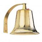 Carillon cloche de bronze poli
