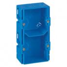 boîte double Modulo , prof. 38 ALB71303 Schneider