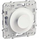 Inter variateur standard Odace - Blanc