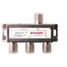 Répartiteur 3 sorties - 5/2300 MHz - ABS031P - EVICOM