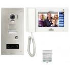 """Kit interphone vidéo JP accessibilité écran 7"""" tactile - Encastré"""