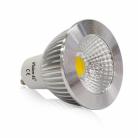 Ampoule LED GU10 5W Dimmable 3000°K Aluminium - Vison-EL - 78418
