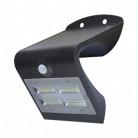 Projecteur LED solaire 3,2W avec détecteur Noir
