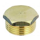 Bouchon laiton mâle 3/4 (20x27) - 03705 - Riquier Adrien