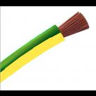 Cable souple H07VK 6 Vert/Jaune au mètre - 10185276 - NEXANS