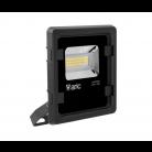 ARIC Projecteur Extérieur Twister 3 led 25w 3000k noir 50823