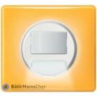 Détecteur à balisage Céliane blanc - Plaque Today jaune