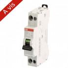 Disjoncteur ABB borne à vis 2A