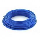 Fil H07VU 6mm² Bleu en 100m - FIL-H07VU-B-6-100M - Bâtir Moins Cher