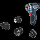 Perceuse / visseuse sans fil GSR 12-15 FC + 4 mandrins - Bosch Professional