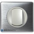 Va et vient Céliane titane - Plaque Aluminium