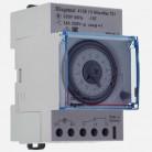 Interrupteur horaire analogique modulaire programmable manuel journalier - cadran horizontal sans réserve de marche - 412812 - Legrand