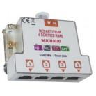 Repartiteur gr2 tv 4 sorties rj45 - LB024 - Michaud