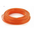 Fil H07VU 1.5mm² Orange en 100m