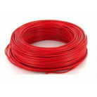 Fil H07VU 2.5mm² Rouge en 100m