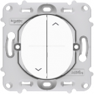 Interrupteur de volet roulant Ovalis