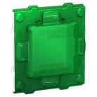 Unica - support de fixation 2 mod + protection de chantier - plastique - NU7002PC - Schneider