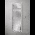 Sèche-serviettes électrique droit soufflant MYRE + télécommande AQUANCE 2864260