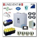 Kit VMC double flux Ideo 325 + accessoires P08