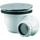Bonde de douche Goulue, multi-directionnelle capot métal pour receveur Ø 90 mm