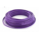 Fil H07VU 1.5mm² Violet en 100m - FIL000905