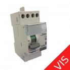 411611 - Inter différentiel vis/vis 40A type AC - Départ haut - Legrand