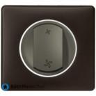 Interrupteur pour VMC Céliane graphite - Plaque Basalte