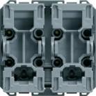Bouton-poussoir volet roulant 2 Modules