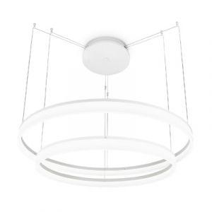 Luminaire Circ à LED - 2 cercles 53W