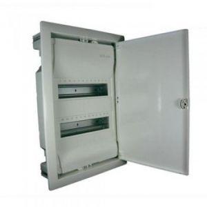 Coffret encastré 2 rangées porte blanche - 001512 - Legrand