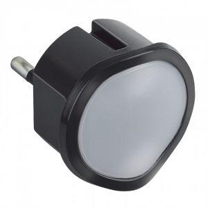 Veilleuse crépusculaire automatique à LED - Noire