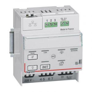 Télécommande BAES modulaire multifonctions SATI connecté non polarisée IP pour bloc d'éclairage et alarme incendie