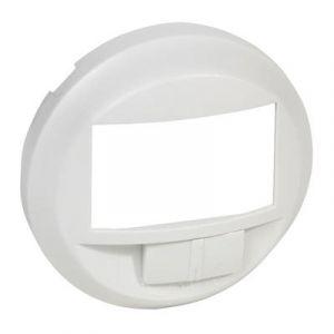 Enjoliveur éco détecteur avec marche/arrêt - Blanc