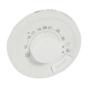 Enjoliveur thermostat d'ambiance - Blanc