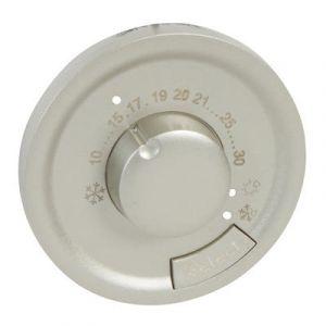 Enjoliveur thermostat d'ambiance - Titane