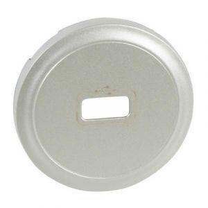 Enjoliveur prise USB femelle  - Titane