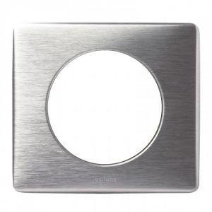 Plaque 1 poste Céliane Aluminium