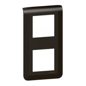 Plaque de finition verticale Mosaic pour 2x2 modules noir mat
