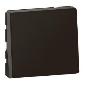 Permutateur 10AX 250V~ Mosaic 2 modules - noir mat