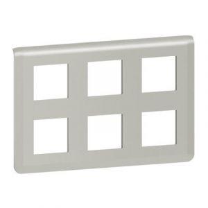 Plaque de finition Mosaic pour 2x3x2 modules alu
