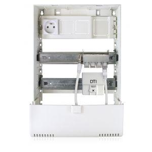 Coffret de communication Grade 3 en Bac d'encastrement avec support box 0802394R13 CAHORS