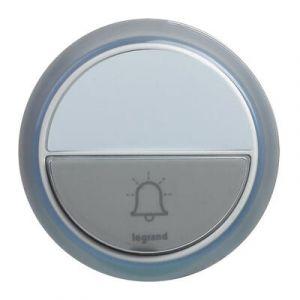 Sonnette IP44 pour kit carillon Confort - blanc