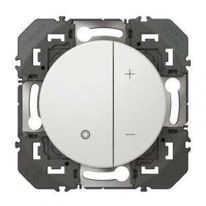 Variateur toutes lampes dooxie 2 fils sans Neutre finition blanc COMPO