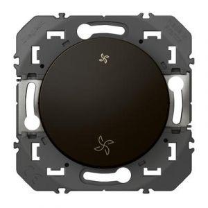 Interrupteur commande VMC dooxie finition Noir