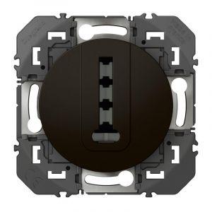Prise téléphone en T dooxie finition noir