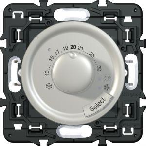 Thermostat fil pilote Céliane titane