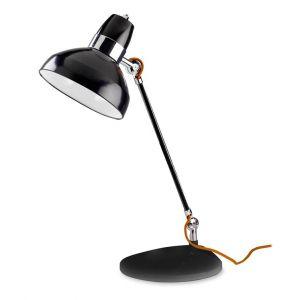 Lampe de bureau Flex noire