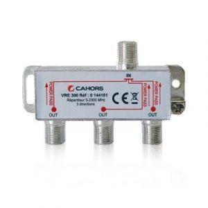 Répartiteur 3 départs 5-2300 MHz