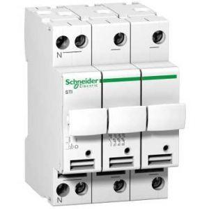 Sectionneur fusible à tiroir STI 3P+N - Fusible 10,3x38